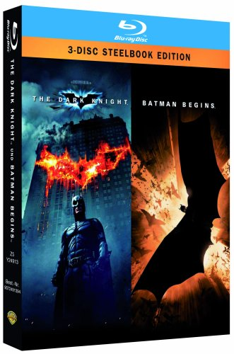 Batman - The Dark Knight/Batman Begins - Steelbook [Blu-ray]