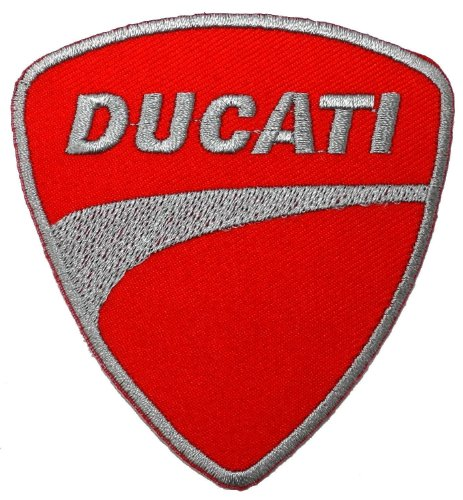 Ducati Motorcycles Biker Racing Sport Appliques Hat Cap Polo Backpack Clothing Jacket Shirt DIY Embroidered Iron On / Sew On Patch