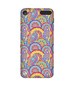 Abstract Pink Apple iPod Touch (5th generation) Case