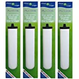 4 x Compatible Multi Stage Ceramic Water Filter To Fit Franke Triflow & Doulton M15 Mount - Save £££,S - With This High Quality Filter