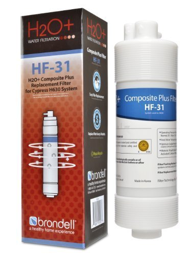 Brondell H2O+ Cypress Composite Plus Water Filter (HF-31) (Brondell Countertop Water Filter compare prices)