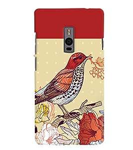 PRINTVISA Bird Case Cover for One Plus One