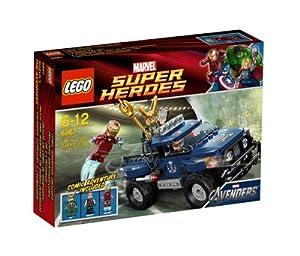 LEGO Super Heroes 6867: Loki's Cosmic Cube Escape