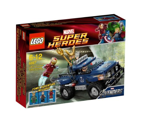 Lego Marvel Superhelden Super Heroes 6867 Loki Cosmic Cube Escape - Loki's Flucht mit dem Kosmischen Würfel [UK Import]