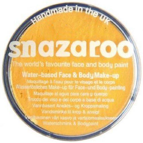 Imagen 1 de Snazaroo - Maquillaje al agua para cara y cuerpo (30 ml)- color amarillo brillante