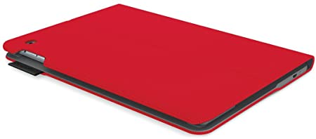 Logitech Keyboard Folio Type+ rouge