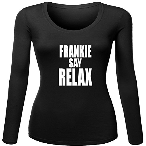 Frankie Says Relax Unisex For 2016 Womens Printed Long Sleeve
