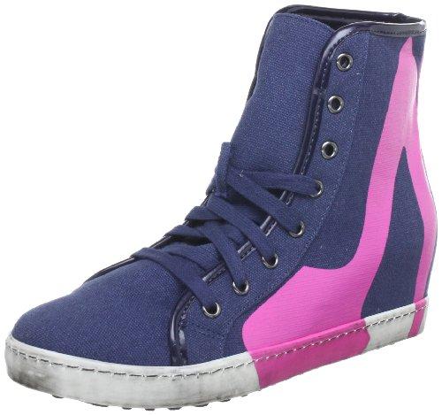 Colors of California HC.SWECH4, Sneaker donna, Blu (Blau (Blu NAV)), 38