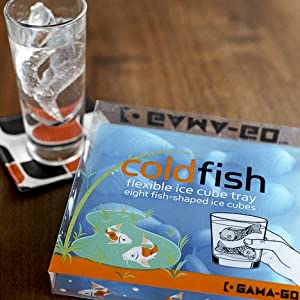 Cold Fish Ice Cube Tray