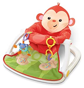 Fisher Price Deluxe Sit-Me-Up Floor Seat