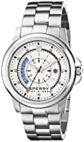 Sperry Top-Sider Men's 10018151 Skipper Analog Display Japanese Quartz Silver Watch from Sperry Top-Sider Watches MFG Code