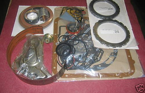 Wellington Parts Corp FORD C-6 TRANSMISSION MASTER REBUILD KIT L1967-EARLY1976 #36007A (Ford C6 compare prices)