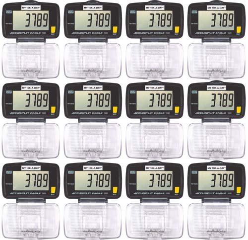 Image of ACCUSPLIT 1620 Pedometers - 12 Pack (B008CLG4YU)
