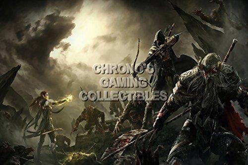 "CGC Elder Scrolls Online Poster grande ONE, XBOX 360, PS3, PS4, EDS017, Carta, 24"" x 36"" (61cm x 91.5cm)"