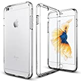 iPhone 6s Plus Case, Spigen® [Ultra Hybrid] AIR CUSHION [Crystal Clear] Clear back panel + TPU bumper for iPhone 6 Plus (2014) / 6s Plus (2015) - Crystal Clear (SGP11644)