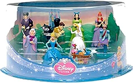 Coffret 10 figurines CENDRILLON Disney store