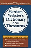 Merriam-Webster's Dictionary and Thesaurus (0756988411) by Merriam-Webster