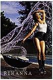 RIHANNA POSTER - SEXY HOT WATER SHOT - RARE NEW 24X36