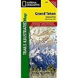 Grand Teton National Park - Trails Illustrated Map # 202