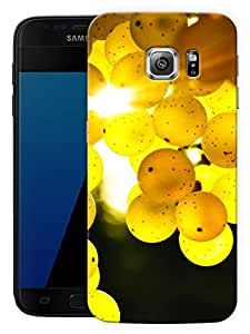 """Lemons And SunshinePrinted Designer Mobile Back Cover For """"Samsung Galaxy S7 Edge"""" (3D, Matte, Premium Quality Snap On Case)"""