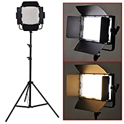 Bestlight® 600 LED Professional Photography Studio Video Light Panel Camera Photo Lighting U Shape Bracket