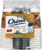 Ships in Certified Frustration-Free Packaging - Chinet Comfort Cup (16-Ounce Cups), 50-Count Cups & Lids