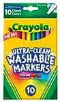 Crayola 10 Ct Ultra-Clean Fine Line W...