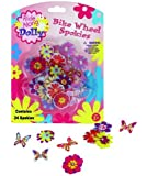 Bike Wheel Spokies - Ride Along Dolly Flower Wheel Spoke Attachments (24 pcs - 12 Different Designs)