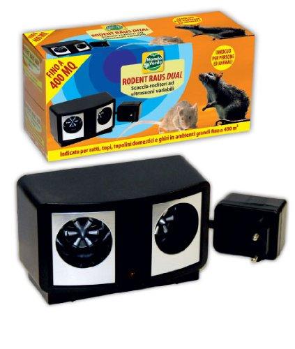 Dispositivo ad ultrasuoni per Ghiri, Orsetti lavatori, Gatti, Cani, Volpi e Martore – Strange Things