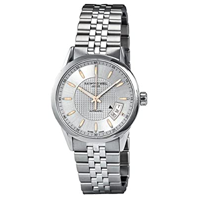 Raymond Weil Freelancer Silver Dial Stainless Steel Mens Watch 2770-ST5-65021