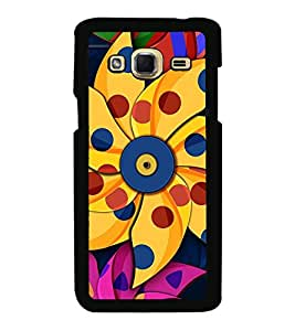 Vizagbeats Paper Pin Wheel Flower Back Case Cover For Samsung Galaxy J3
