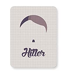 PosterGuy Hitler Hitler, History, Soldiers, Moustache, Adolf Hitler, Saluting, Hand, Army, War, Fighting, World, 3 Bad Decisions, German, Military, Fighting King, British, Rules, People, Joke, Economy, Culture, Finan Mouse Pad