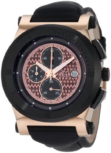 Carlo Monti - CM500-992 - Montre Homme - Automatique - Analogique - Bracelet cuir noir