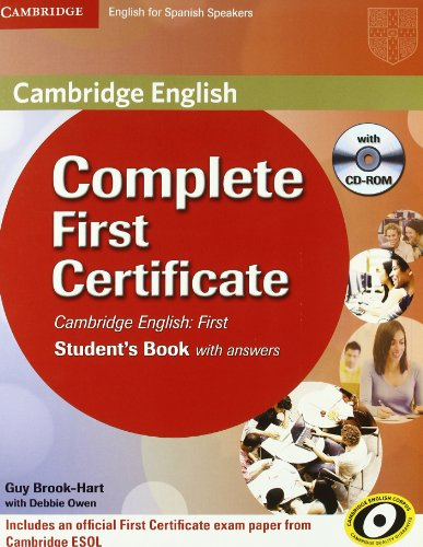 Complete First Certificate for Spanish Speakers Student's Book with answers with CD-ROM