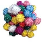 joy Sparkle Ball Cat Toy - 10 Pack - 1