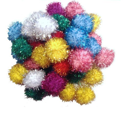 Good Sparkle Ball Cat Toy - 10 Pack - 1