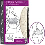 Sexy Chic Sheerly Fabulous Stretchy Lace Bra or Midriff Cover Up thumbnail