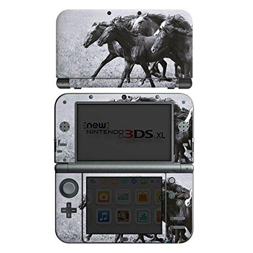 nintendo-new-3ds-xl-case-skin-sticker-aus-vinyl-folie-aufkleber-pferde-pferd-mustang