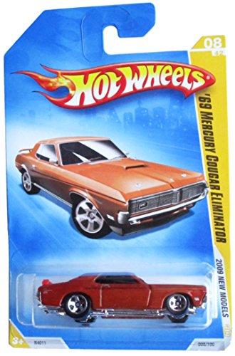 Hot Wheels '69 Mercury Cougar Eliminator (Orange)# 08 of 42 - 1