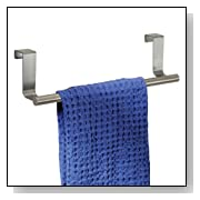 Over-the-Cabinet Bath Towel Bar