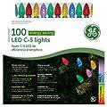 Santa's Best Craft Llc 100Ct Multi C5 Lgt Set Ge97575cc Christmas Lights Led/Energy Saving