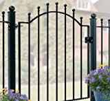Metal garden gate Weston 920-990MM OPENING X 1041MM HIGH