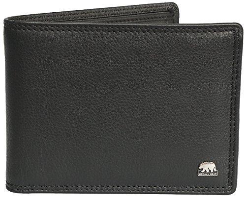 Brown-Bear-Geldbrse-Herren-Leder-blau-oder-schwarz-8005-D