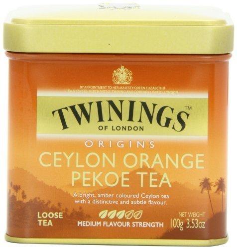 Twinings Ceylon Orange Pekoe Tea, Loose Tea, 3.53-Ounce Tin by Twinings by Kirkland Signature [並行輸入品]