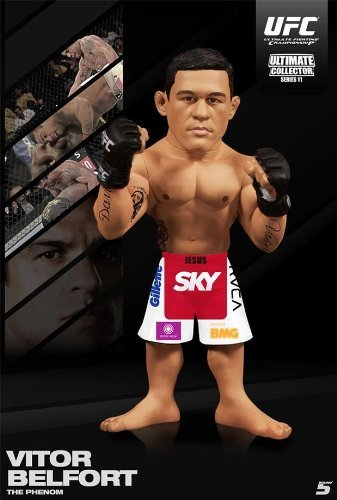 UFC Ultimate Collector Series 11 Action Figure - Vitor Belfort by Round 5 MMA