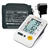 LotFancy Blood Pressure Monitor, Upper Arm Large Cuff (11.8-16.5
