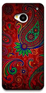 The Racoon Lean Taste of India hard plastic printed back case / cover for HTC One (M7)