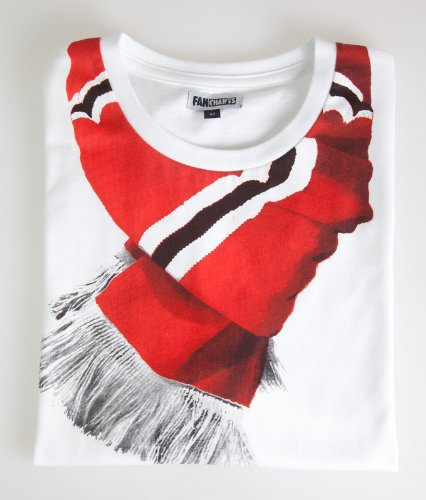 Man United Scarf Print T-Shirt, XL