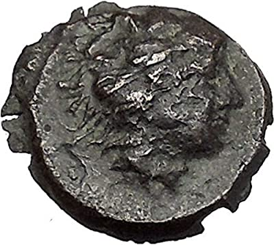 SELINOS in SICILY 415BC Hemilitron Hercules Bow Club Ancient Greek Coin i41377