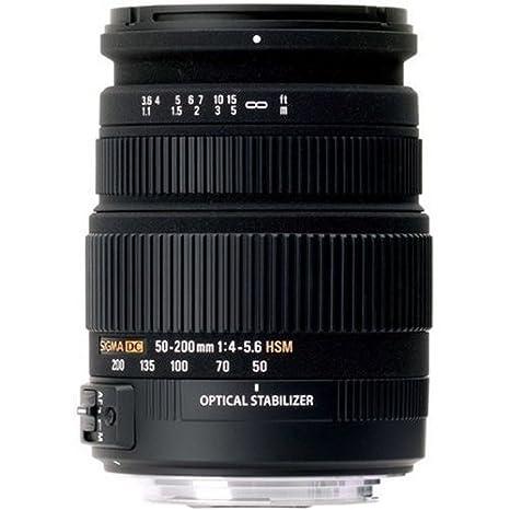 Sigma Objectif 50-200 mm F4-5,6 DC OS HSM - Monture Nikon